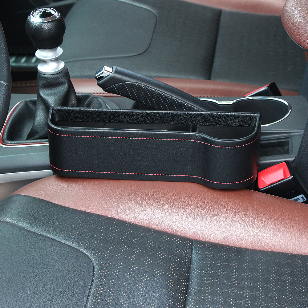 new car styling car seat gag filler crevice storage box bag pu multifunction auto organizer with. Black Bedroom Furniture Sets. Home Design Ideas