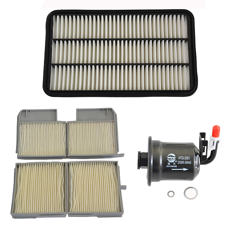 Car Engine Air Filter Cabin Filter Fuel Filter For <font><b>Toyota</b></font> <font><b>Camry</b></font> <font><b>2.2L</b></font> 1991-2001 17801-74060 88880-33040 23300-29045 image