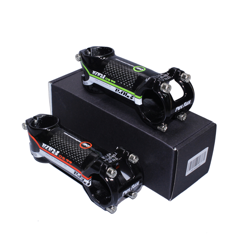 2019 New Brand High Quality Mountain Bike Package Ultralight Carbon Fiber Stem / Riser Diameter 28.6-31.8 Red / Green 60mm-120mm