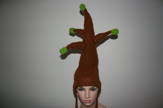 (1-4years) My Amazing Unique Tree Hat! Lets Make The World Greener! Tree Inspired Crochet Hat