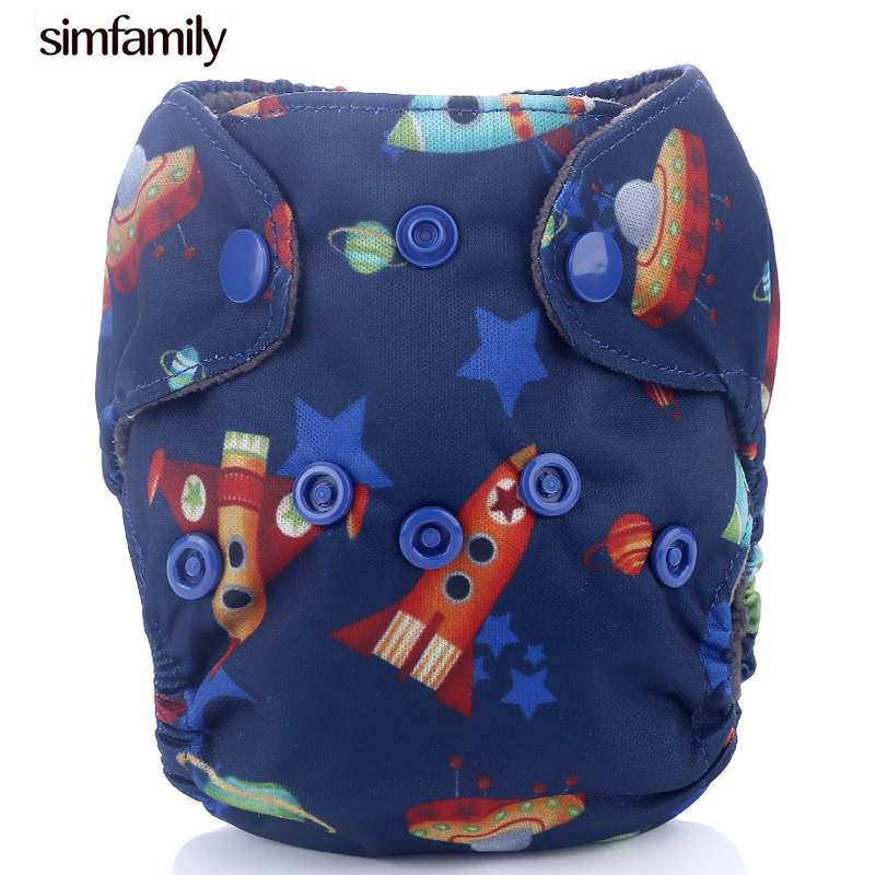 [simfamily]1PC Newborn ALL IN ONE Diaper Flushable Bamboo Charcoal AIO Cloth Diaper 0-3months Baby Nappy Factory-direct-nappies
