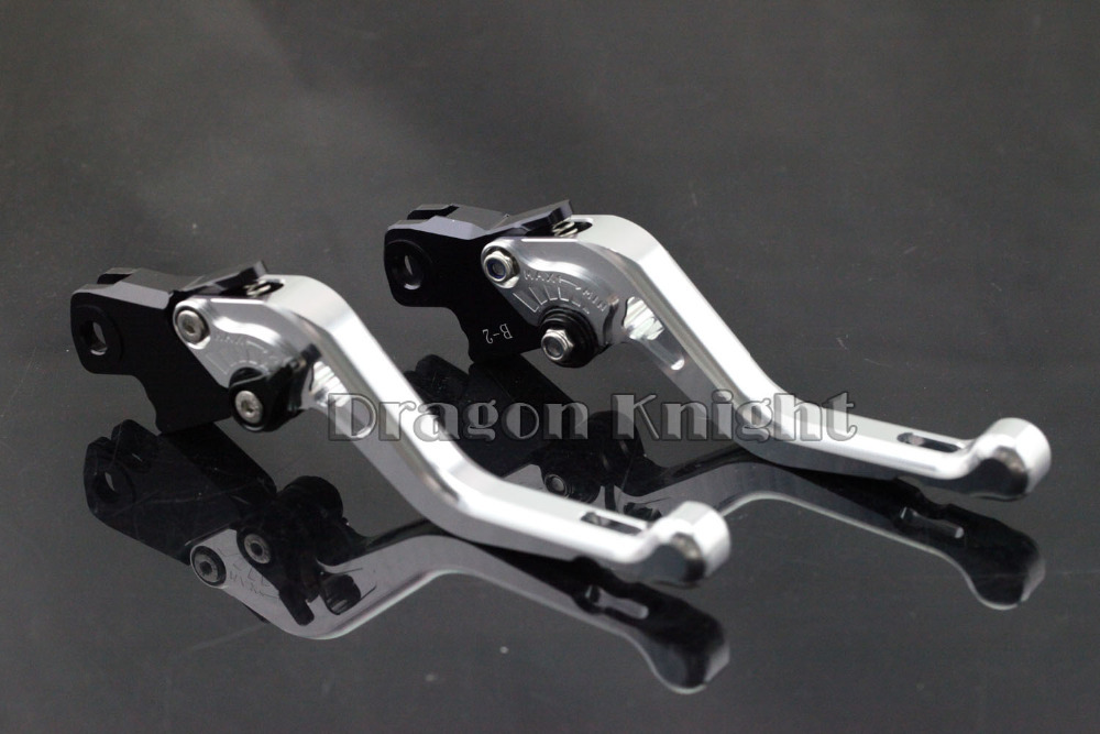 Motocycle Accessories For BMW R1200GS/ST/S/R/RT Short Brake Clutch Levers Silver motocycle accessories for honda cb600f cb900f cbf600 short brake clutch levers black