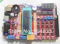 PIC Development Board Kit + Microchip PIC16F877A PIC microcontroller development board learning board matrix keypad
