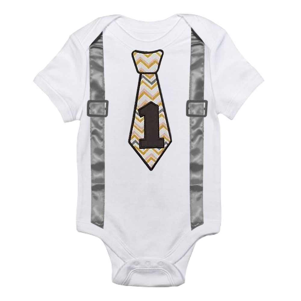 Baby Boys Rompers Kids Clothes For One Year Old Boy Birthday Romper Toddler Roupas De Overall