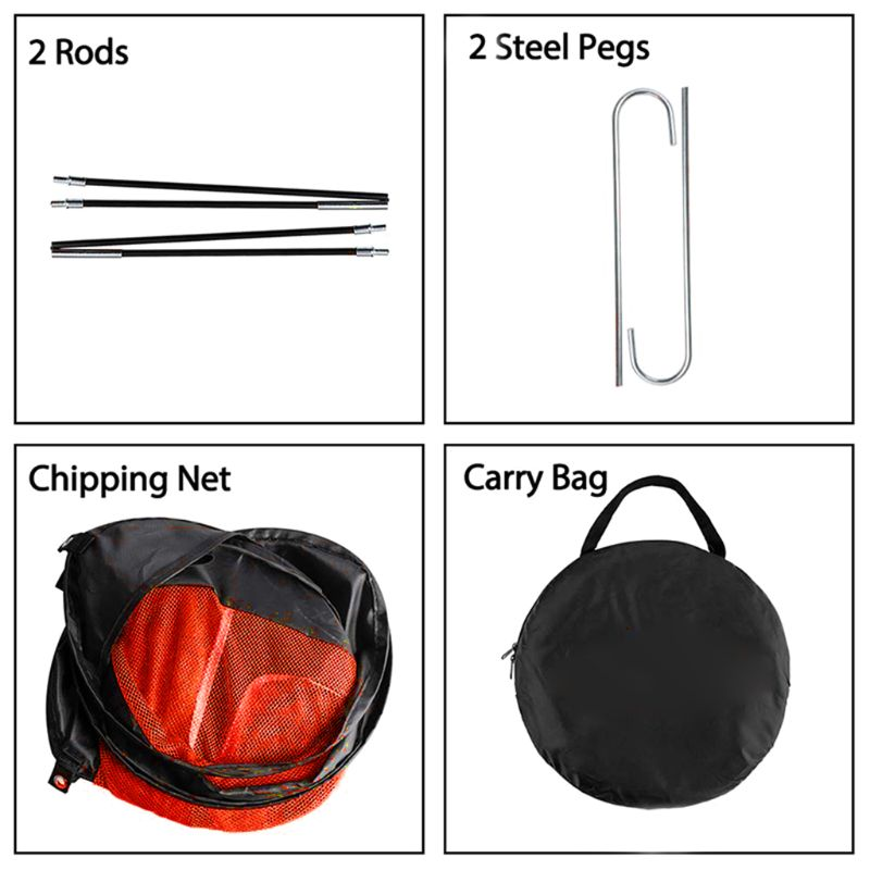 Image 4 - OOTDTY Golf Chipping Net Portable Foldable Outdoor Indoor Target Practice Aid-in Golf Training Aids from Sports & Entertainment