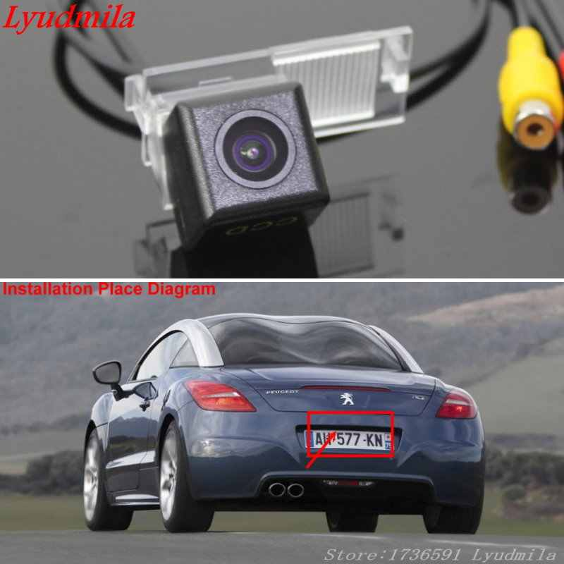detail feedback questions about lyudmila wireless camera for peugeot rcz /  sega / cross / car rear view camera / hd ccd night vision back up reverse  camera