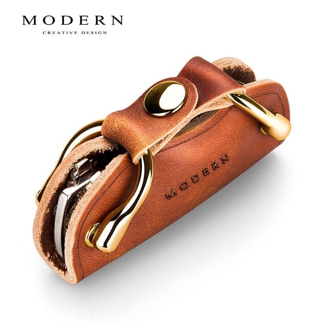 Genuine Leather Key Organizer Holder 1