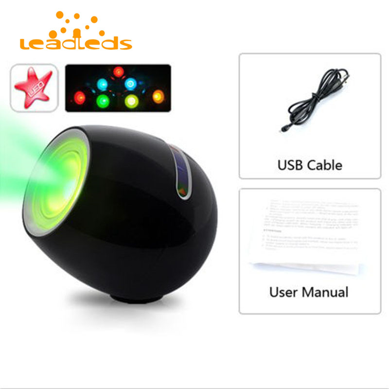 256 Colors Night Light Color Changeable Spot Light Lamp 3W LED Mood Light Decoration Lighting Christmas Holiday Wedding Paty