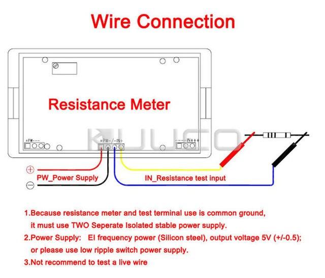 Terrific Online Shop Digital Meter 3 2 1 Lcd Display 2Kohm Digital Ohm Meter Wiring 101 Ferenstreekradiomeanderfmnl