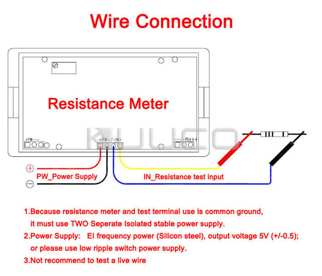 Sensational Online Shop Digital Meter 3 2 1 Lcd Display 2Kohm Digital Ohm Meter Wiring Digital Resources Funapmognl