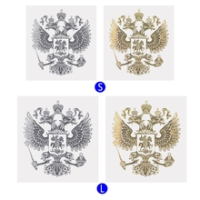 Coat of Arms Russia Car Sticker Russian Eagle Decal Stickers For Styling