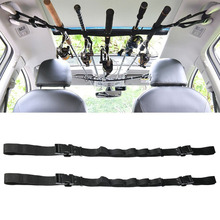 Car Fishing Rod Carrier Belt Protector Bracket Fixing Tool Accessories Holder