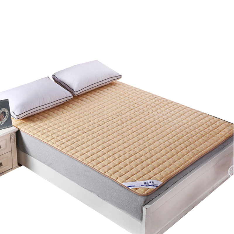 Svetanya quilted Mattress Cover with Elastic Mattress Topper with stuffing/fillings ...