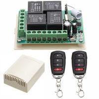 315 мГц DC 12 В rf Дистанционное управление приемник 4CH канала реле рф Беспроводной Дистанционное управление коммутатора приемник + 2 Передатчик
