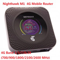 Desbloqueado Netgear Nighthawk M1 4GX Gigabit LTE Mobile Router rj45 1000 mbps lan M1 MR1100 CAT16 4GX Gigabit 4g wiFi Hotspot