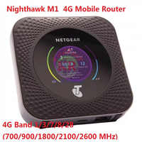 Desbloqueado Netgear Nighthawk M1 4GX Gigabit LTE Mobile Router rj45 1000mbps lan M1 MR1100 CAT16 4GX Gigabit 4g WiFi Hotspot