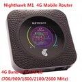 Entsperrt Netgear Nighthawk M1 4GX Gigabit LTE Mobile Router rj45 1000 mbps lan M1 MR1100 CAT16 4GX Gigabit 4g wiFi Hotspot|netgear nighthawk|mobile lte routerpk -