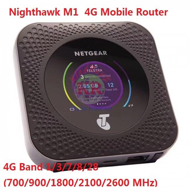 Routeur Mobile Netgear Nighthawk M1 4GX Gigabit LTE débloqué rj45 1000 mbps lan M1 MR1100 CAT16 4GX Gigabit 4g Hotspot WiFi