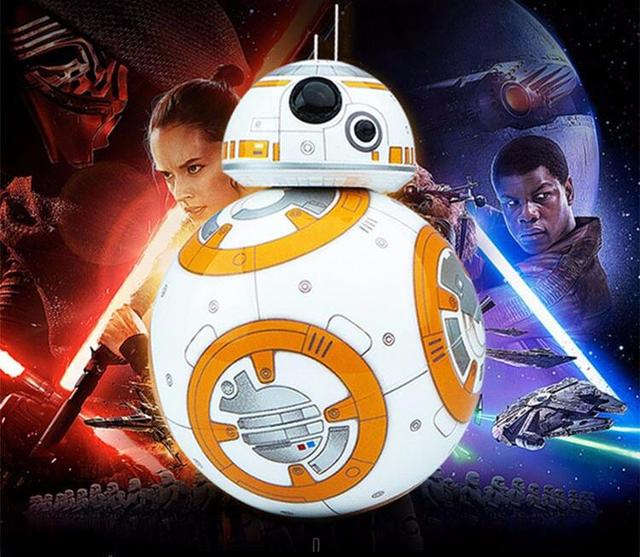 remote control robot bb 8 star wars 7the force awakens bb8 driod can