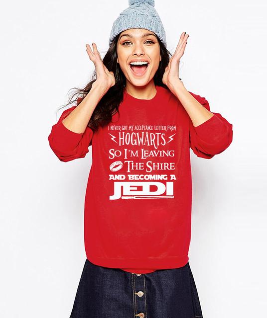 JEDI text Star wars sweatshirt