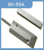 BS-55A Wired Magnetic Window Door Contacts Recessed Switch Alarm Sensor For Security Alarm System