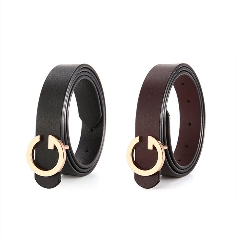 Women Pants Dress Strap Ladies Genuine Leather Belts with Alloy Retro Buckle Female Cowskin Belt Designer Women 39 s Jeans Belt in Men 39 s Belts from Apparel Accessories