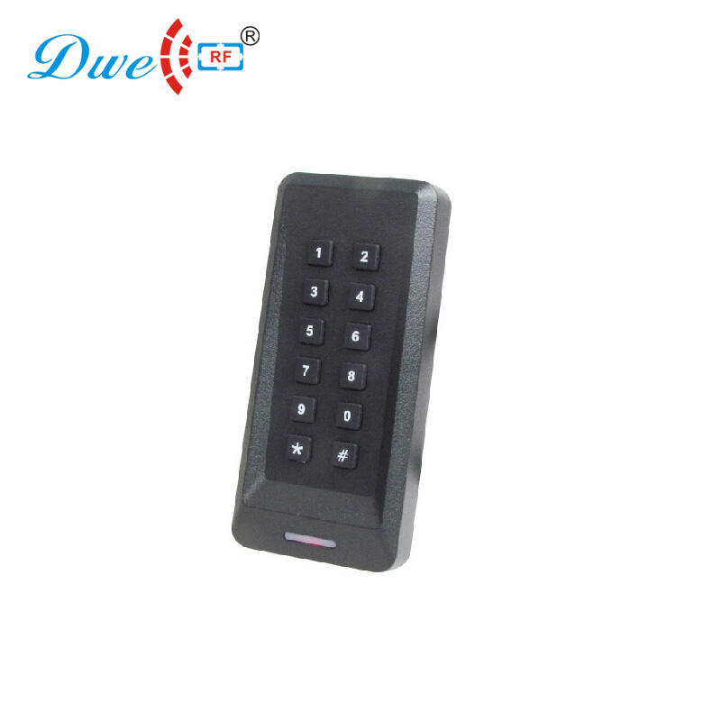 DWE CC RF access control card reader rfid proximity pin keypad card reader touch keypad rfid key readers original access control card reader without keypad smart card reader 125khz rfid card reader door access reader manufacture