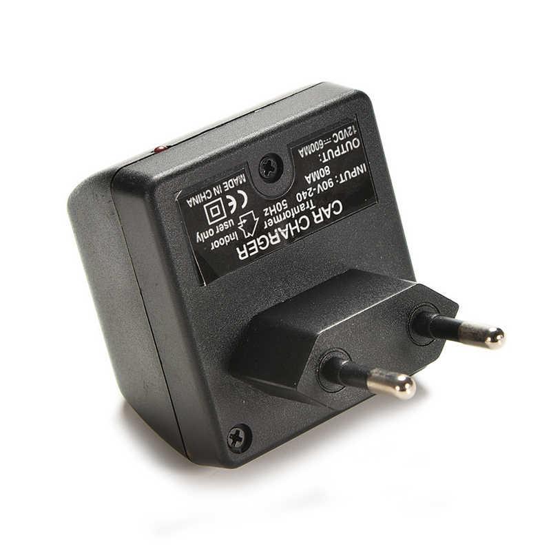 자동차 전자 충전기 AC 220V DC 12V 전원 어댑터 홈 담배 라이터 소켓 EU 플러그 벽 전원 공급 장치