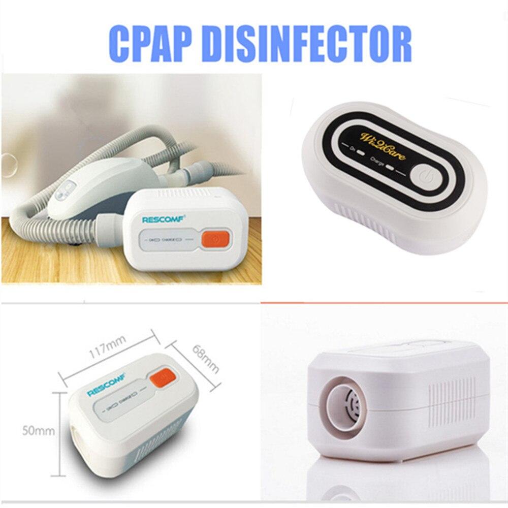 Batterie CPAP Désinfectant Stérilisateur CPAP APAP Auto CPAP Désinfecteur Ventilateur Cleaner L'apnée Du Sommeil SAHOS SAOS Anti Ronflement
