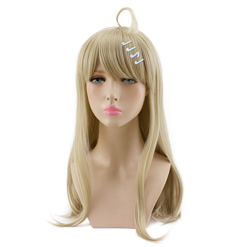 HSIU Kaede Akamatsu Cosplay Wig New Danganronpa V3 Costume Play Wigs Halloween Costumes Hair Free Shipping NEW High Quality