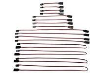 15 cm 20 cm 30 cm 50 cm futaba stijl servo extension man-vrouw servo verlengsnoer splitter kabel wire-4 elke