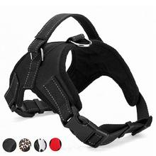 цена General Soft Adjustable Harness Pet Walk Out Hand Chest Strap Dog Bib Set Vest Collar Dog Harness for Small Medium Large Dog в интернет-магазинах