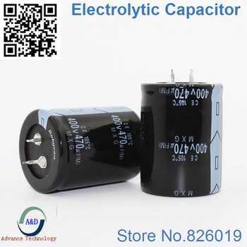 15pcs/lot 400V 470UF Radial DIP Aluminum Electrolytic Capacitors size 30*45 mm 470UF 400V Tolerance 20% - DISCOUNT ITEM  0% OFF All Category