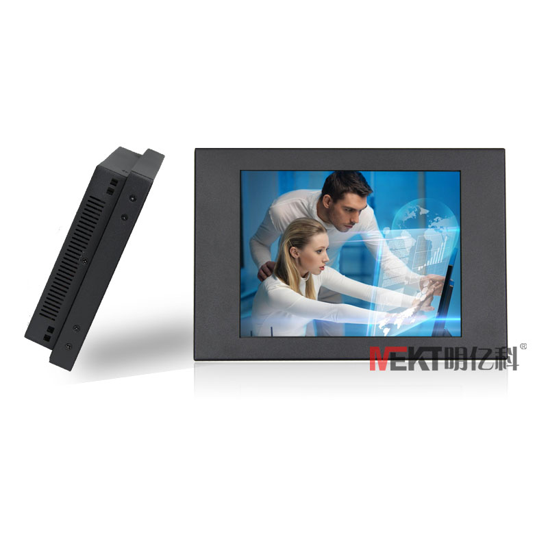 8.4touch screen monitor with HDMI&VGA input DVI interface monitor industrial touch monitor