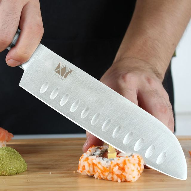 Kitchen Silver Stainless Steel Knife