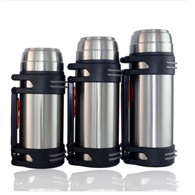 Vehicle thermo jug stainless steel vacuum flasks travel kettle 1 L - Kitchen, Dining and Bar