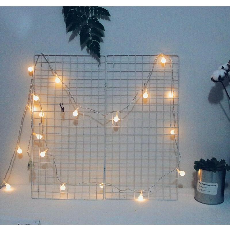 AC220V 5M 28LED Cherry Ball lampu tali mentol Garland LED hiasan - Pencahayaan perayaan - Foto 3