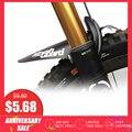 MARSH guardia bicicleta guardabarros MTB Fender barro guardias alas para bicicletas guardabarros delanteros fácil de ensamblar más ligero guardabarros bicicleta