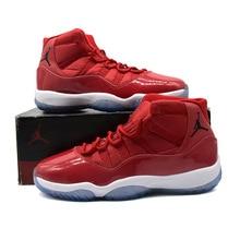 watch 280e1 3b3e1 Jordan 11 Basketball shoes Win Like 96 Gym Red High-cut Outdoor Sport  Footwear New