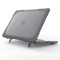New Shockproof laptop Case For Macbook Pro 13 with Retina Hard Plastic Cover with Foldable Stand A1502 A1425