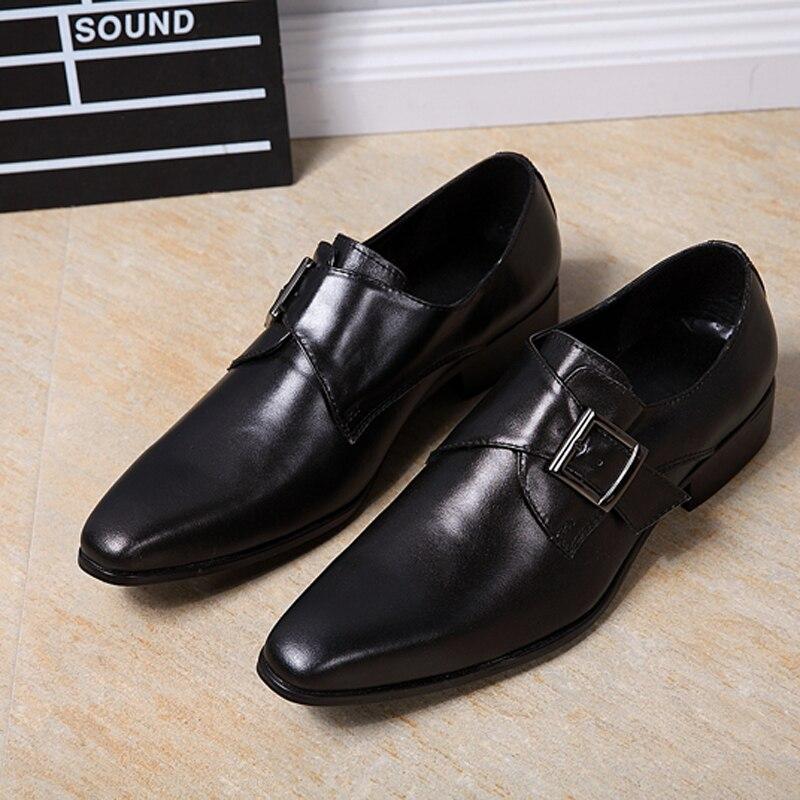 En Chaussures Italiennes Cuir Hommes Choudory Classique LR4A5j
