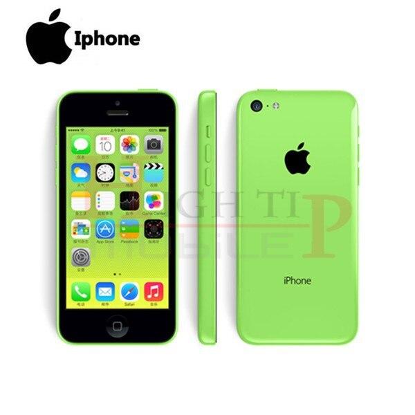 סמארטפון מקורי Apple iphone 5C טלפון המצלמה 8MP 16GB 32GB ROM IOS 8 4.0