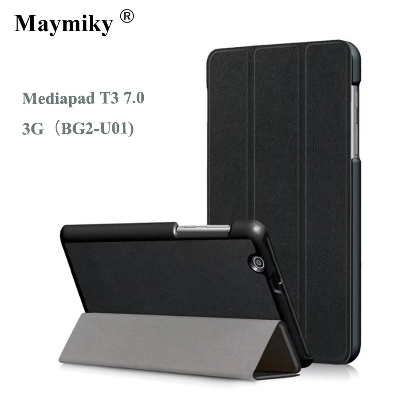 cover For Huawei MediaPad T3 7 3G BG2-U01 Smart Cover Slim Magnetic Folding Case