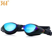 361 Mirrored Goggles for Swimming Professional Pool Glasses UV Protection Swim Goggle Adult Waterproof Eyewear