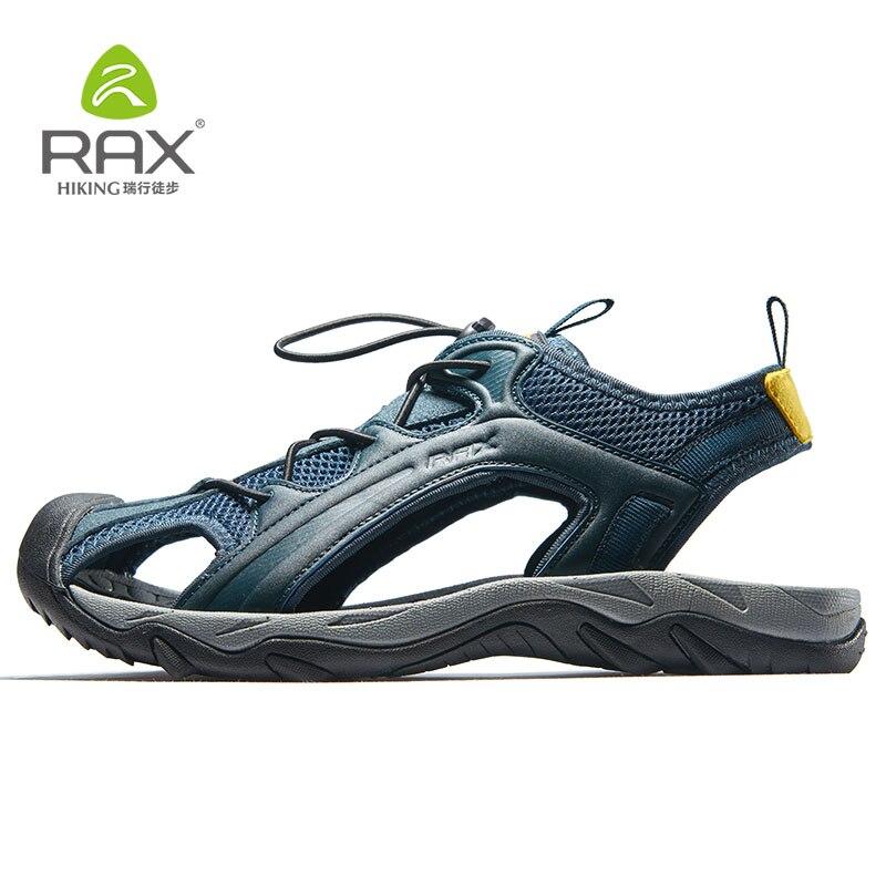 Rax Men Women Hiking Shoes Breathable Men Sandals Outdoor Trekking Shoes Mesh Aqua Sport Sandals Sneaker Men Hiking Sandals cpx aqua shoes men outdoor sneakers breathable hiking shoes men women outdoor hiking sandals men trekking trail water shoes