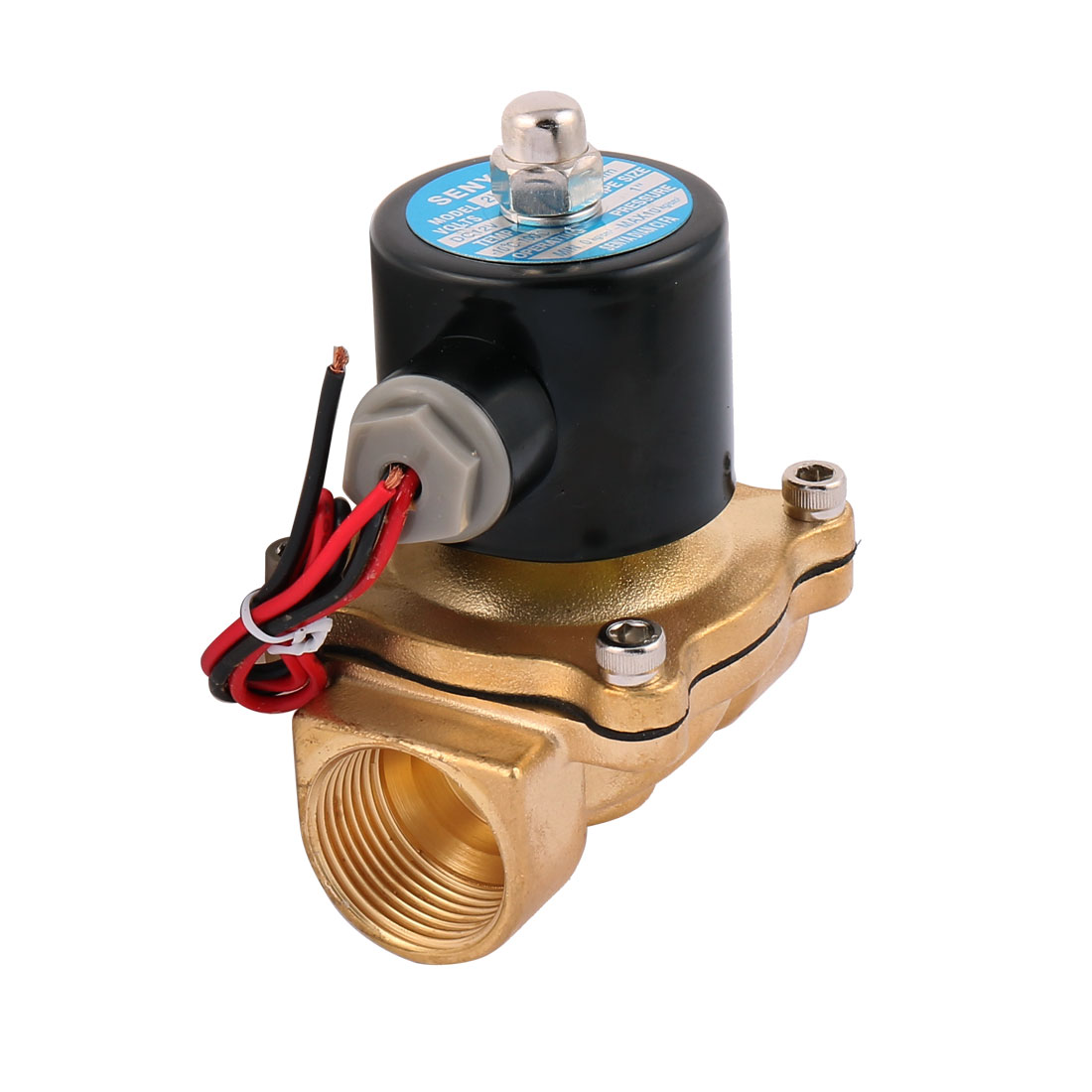 Air, Water, Oil Pneumatic Solenoid Valve 2W250-25 1 dn25 dn100 ss304 sanitary pneumatic butterfly valve with air open pneumatic end clamp