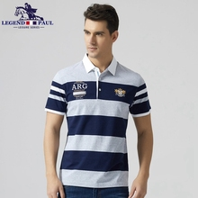 Legend Paul Brand 2017 fashion New High Quality Cotton Men Polo business Shits Short Sleeve Slim Fit Casual Leisure Men tee