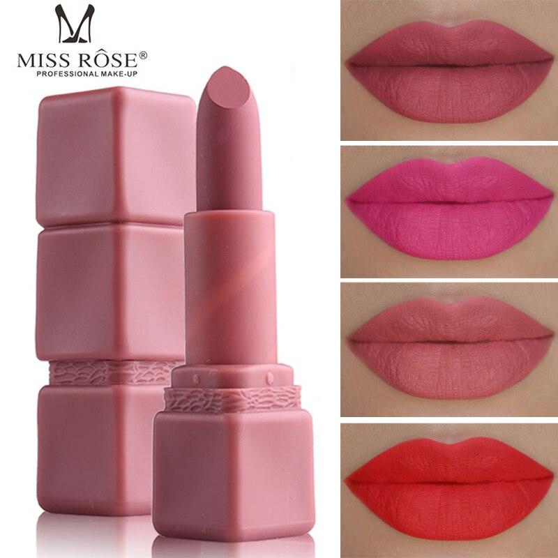 Aliexpresscom  Buy Miss Rose 2018 New Lip Colors Matte Lipstick -5244