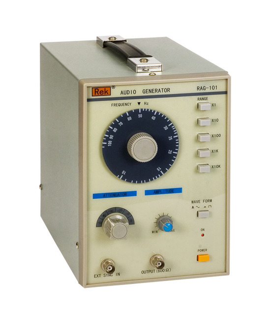 DHL Free shipping RAG101  Audio Signal Producer,10 to 1Mhz  Audio Generator Function Signal , LF Low Frequency Signal Generator