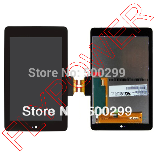100% warranty For ASUS Google Nexus 7  LCD Screen Display with Touch Screen digitizer Assembly  by free shipping new lcd touch screen digitizer with frame assembly for lg google nexus 5 d820 d821 free shipping